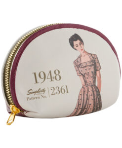 Simplicity Vintage Gift Range Coin Purse Burgundy 1948