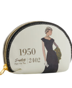 Simplicity Vintage Gift Range Coin Purse White 1950