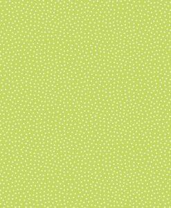 Fabric Makower UK Sunny Bee Green Seed Dots 2/9436G