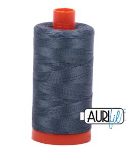 Aurifil 50WT Cotton Thread 1158 Dk Slate Grey 1300 m spool
