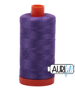 Aurifil 50WT Cotton Thread 1243 Purple 1300 m spool