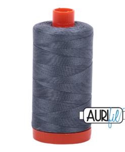 Aurifil 50WT Cotton Thread 1246 Grey 1300 m spool