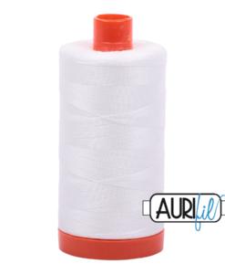 Aurifil 50WT Cotton Thread 2021 Off White 1300 m spool