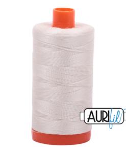 Aurifil 50WT Cotton Thread 2309 Natural 1300 m spool