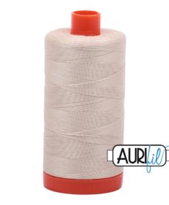 Aurifil 50WT Cotton Thread 2310 Natural 1300 m spool