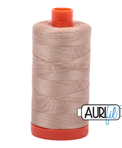 Aurifil 50WT Cotton Thread 2314 Taupe 1300 m spool