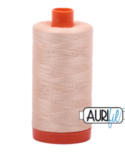 Aurifil 50WT Cotton Thread 2315 Beige 1300 m spool