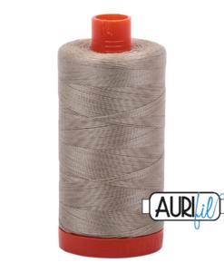 Aurifil 50WT Cotton Thread 2324 Stone 1300 m spool