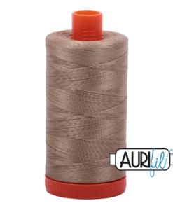 Aurifil 50WT Cotton Thread 2325 Linen 1300 m spool