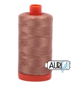 Aurifil 50WT Cotton Thread 2340 Cafe Au Lait 1300 m spool