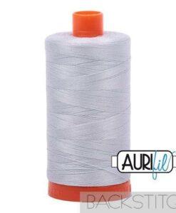 Aurifil 50WT Cotton Thread 2600 Dove Grey 1300 m spool