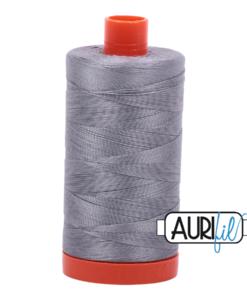Aurifil 50WT Cotton Thread 2605 Grey 1300 m spool