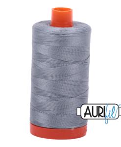 Aurifil 50WT Cotton Thread 2610 Lt Blue/Grey 1300 m spool